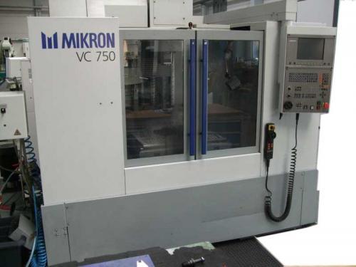 MIKRON VC 750 - Fräsmaschine
