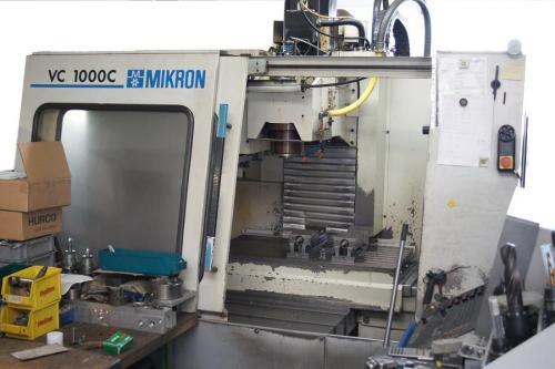 MIKRON VCE 1000 - Fräsmaschine